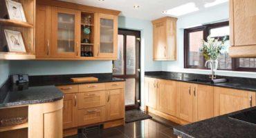 Clean-Wooden-Kitchen-Cabinet