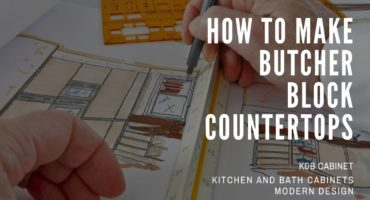 How to make butcher block countertops