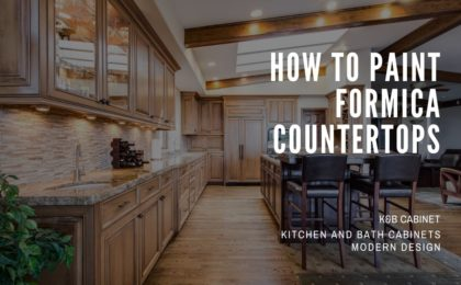 how to paint formica countertops