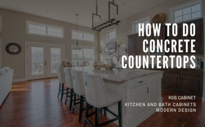 How To Do Concrete Countertops