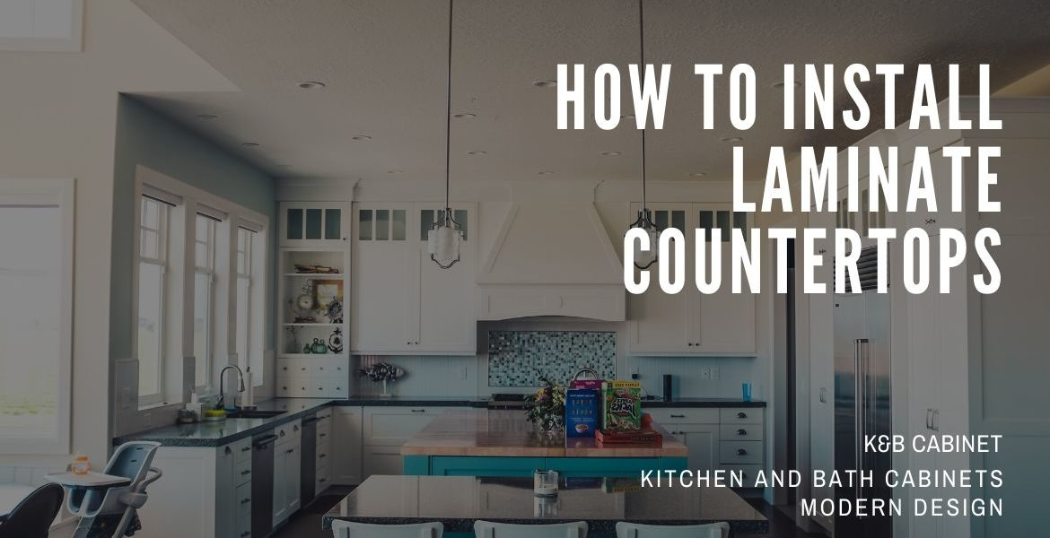 How To Install Laminate Countertops-1