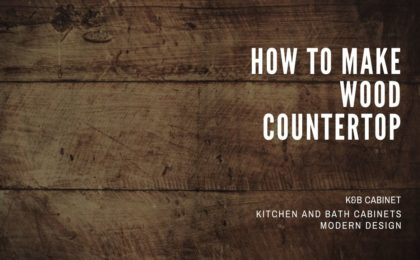 How To Make Wood Countertop
