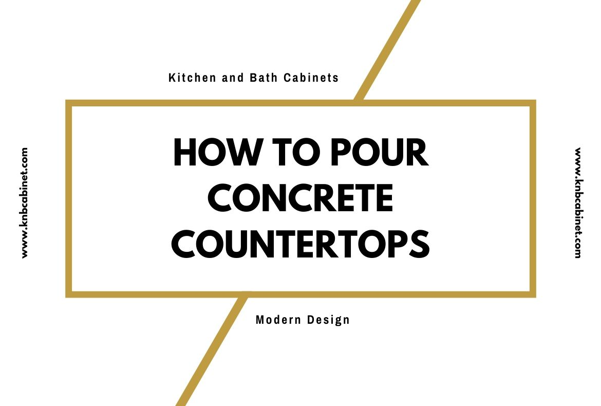 How to Pour Concrete Countertops-2