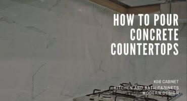 How to Pour Concrete Countertops