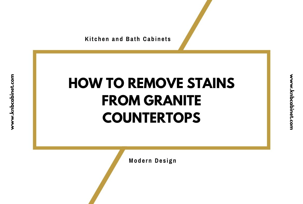 How to Remove Stains From Granite Countertops-2